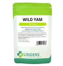 Lindens Mexican Wild Yam Extract 500mg 100 tablets Diosgenin