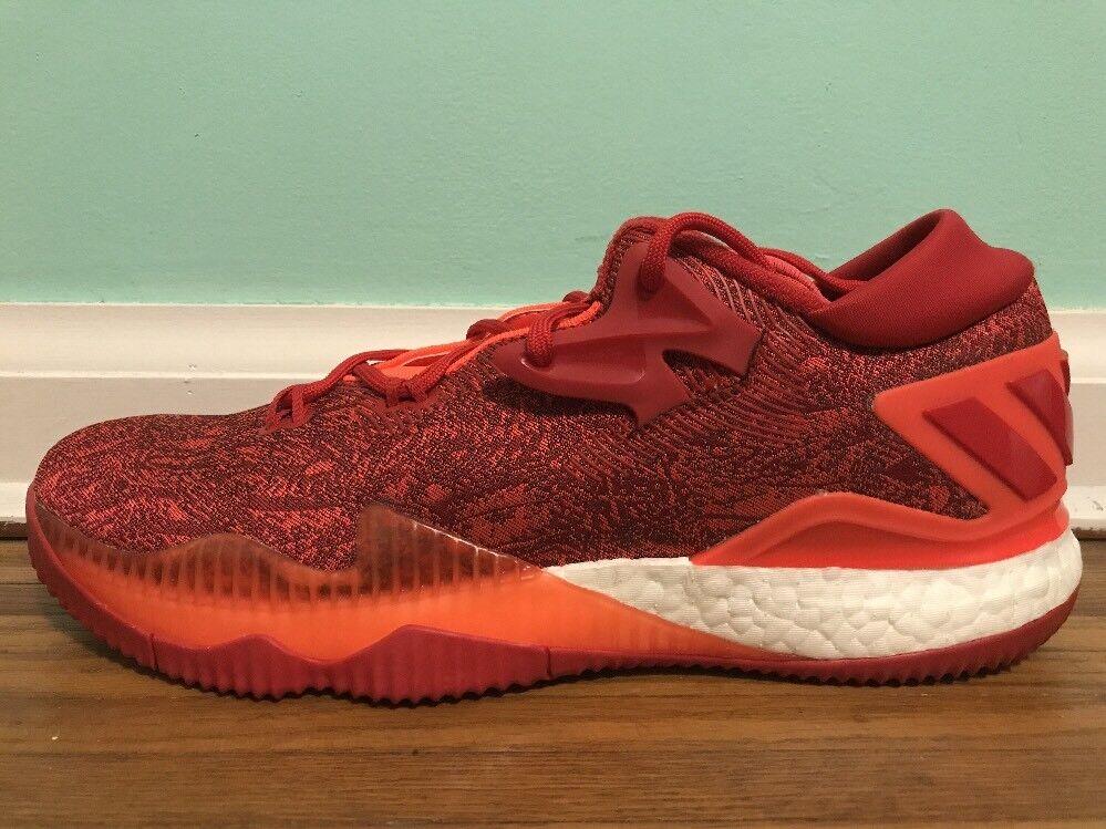 online store 7b3a5 42cb5 ... Nuove adidas crazylight crazylight crazylight slancio basso 2016 red  basket scarpe da uomo b42389 sz 13 ...