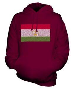 Felpa Scarabocchiato Tagikistan Unisex Bandiera Idea Maglia Tajikistani Regalo Ewqg1TqFx