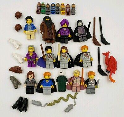Lego Minifigure Harry Potter Lot Hermione Albus Snape Hagrid Gilderoy Quirinus Ebay
