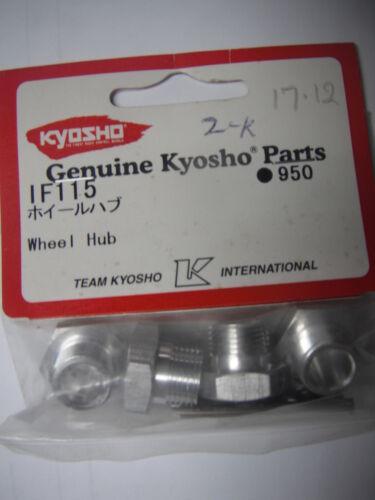 Genuine Kyosho Parts #IF115 Wheel Hub /& Pins 4pc