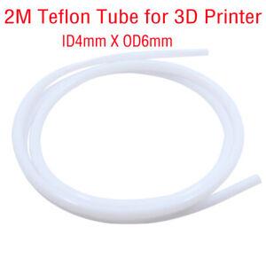 1M PTFE Teflon Tube Pipe For 3D Printer 1.75//3 mm Filament RepRap