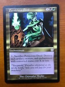 1x x1 Pernicious Deed Apocalypse Near Mint English -BFG- MTG Magic