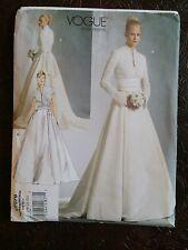 NEW UNCUT Vogue V2979 Bridal Sewing Pattern Sz 18, 20, 22 Emma Swan, Grace Kelly