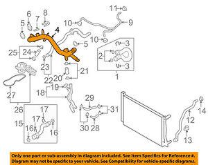 audi oem 05 09 a4 quattro radiator pipe 06e121045e ebay rh ebay com audi tt cooling system diagram audi a8 cooling system diagram
