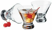 Libbey 4-piece Cosmopolitan Cocktail/martini Glasses, 8.25 Ounce, Clear , New, F on Sale