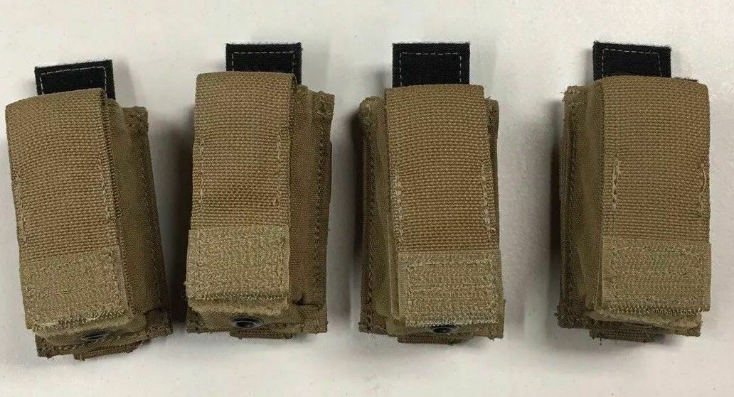 (10) Ten Eagle Industries Coyote 9MM 15RD Magazine Pouch Kydex USMC New