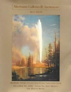 Altermann Western American Paintings Sculpture Santa Fe Auction Catalog 2006