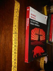 GG LIBRO: LA FATTORIA DEGLI ANIMALI George Orwell OSCAR MONDADORI 2012
