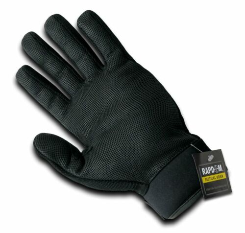 Digital Leather Duty Tactical Gloves Police Rapdom T29 BLK