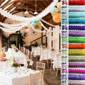 3M-Tissue-Paper-Garlands-Bunting-Party-Wedding-Baby-Shower-Hanging-Decor-Gift