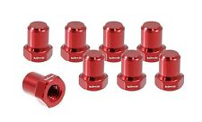 VMS RACING BILLET ALUMINUM RED B16 B18 VTEC VALVE COVER NUTS BOLTS HEAD 8 PCS