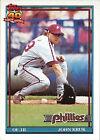 1991 Topps John Kruk #689 Baseball Card
