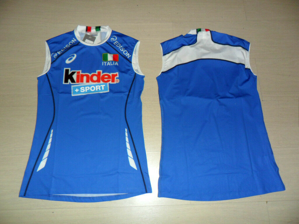 FW13 FIPAV ITALIE XL MAILLOT COURSE VOLLEY-BALL FEMME VOLLEY-BALL COURSE VOLLEYBALL HAUT JERSEY 6fd796