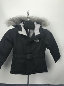 The Xs Jacket Details Black Girls Puffer North About Greenland Parka Size Down Nwt Face Kids DH9E2IW
