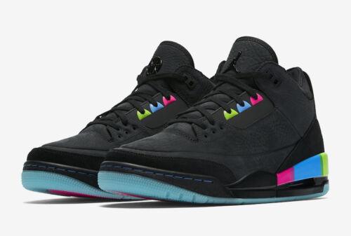 Uomo 9 Nike At9195 5 001 Grigio Jordan 3 Nero 5 Q54 Multi Se Eu 44 Air Uk Retro rrxOdq1vw