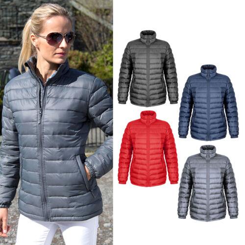 Result Urban Outdoor Women/'s Ice Bird Padded Jacket R192F Nylon Ladies Warmwear