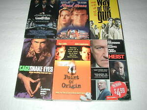 ACTION-MOVIES-6-PACK-VHS-MOVIE-LOT-RARE-OOP-HTF