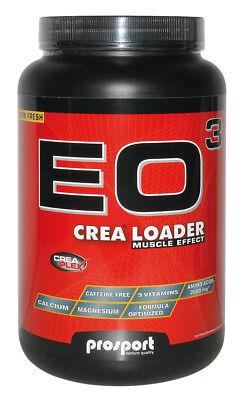 (54,99 €/1kg) Prosport Eo3 Crea Loader 2kg Creatina, Glutammico + Shaker Gratis-