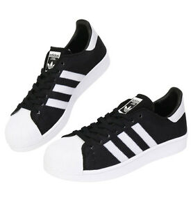 quality design 5b3ca 229c1 Image is loading Adidas-Originals-Superstar-BB2234 -Athletic-Sneakers-Shoes-Black