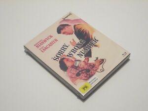 Lo-sentimos-numero-equivocado-Blu-Ray-Edicion-Limitada-Con-Slipcover-Stanwyck-Lancaster