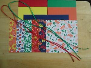 Stampin-Up-HAPPINESS-BLOOMS-6-X-6-034-Designer-Paper-Card-Kit-Ribbon