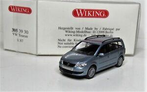 Wiking-1-87-VW-Touran-GP-OVP-305-39-arcticbluemetallic