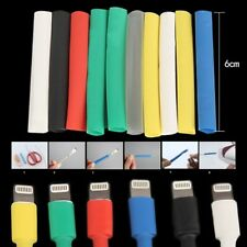 14pcsset Cable Protector Heat Shrink Tube For Iphone Usb Charger Cord