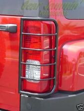 Hummer H3 BLACK Tail Light Guards protector 2006 - 2010
