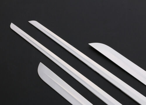 SUS304 4x Body Door Side Molding Trim Lower For Toyota Camry 2018 2019