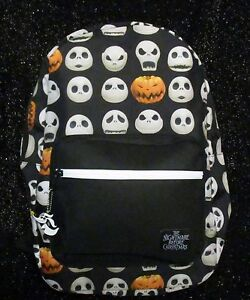 The Nightmare Before Christmas Jack O Lantern Backpack Disney Free