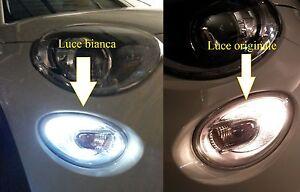 Lampadina Luci Diurne Fiat 500 : Fiat luci diurne lampade ba s simoni racing bianchissime ebay