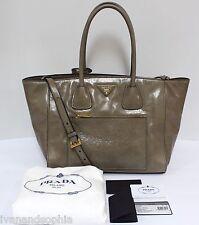 Prada * Vitello Shine Shopping BN2795 in Guinco Leather Bag Ivanandsophia MOM17