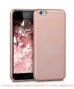 custodia iphone 6 silicone rosa