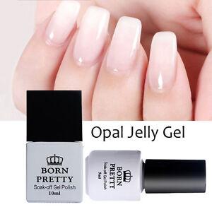 Born-Pretty-Opal-Jelly-Gel-White-Soak-Off-Nail-Art-UV-Gel-Nail-Polish-Nails-DIY