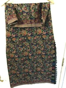 100-Pashmina-Large-Scarf-Shawl-From-KASHMIR-Ladies-Beautiful-Floral-Embroidery