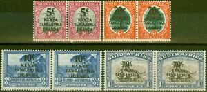 KUT-1941-42-set-of-4-SG151-154-Fine-Lightly-Mtd-Mint
