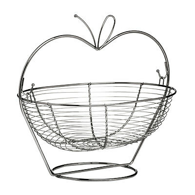 Fruit Basket Chrome Beautiful Design Basket Dining Home Restaurant Hotel New