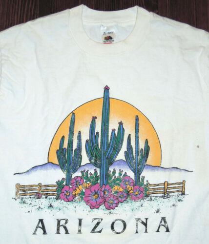 T Shirt Vintage 90s Arizona Desert Western Cactus