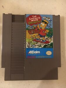 SIMPSON'S BART VS THE SPACE MUTANTS NINTENDO GAME SYSTEM NES HQ