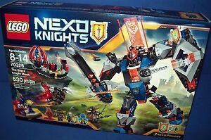 70326 New Sealed Retired Age 8-14 LEGO Nexo Knights The Black Night Mech 2016