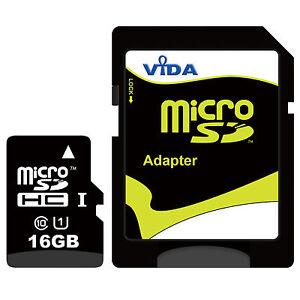 Carte-Memoire-16-Go-Micro-SD-Pour-Microsoft-Lumia-640-XL-Dual-SIM-LTE-Telephone