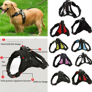 No-Pull-Adjustable-Dog-Pet-Vest-Harness-Quality-Nylon-Small-Medium-Large-XS-XL