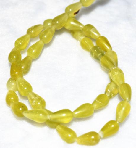 """AAA New 7x11mm South natural Olivine Drop loose gemstones Fifteen 15/""""AAA+08"""