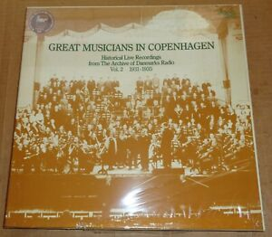 GREAT-MUSICIANS-IN-COPENHAGEN-Vol-2-1931-35-Danacord-DACO-134-138-SEALED