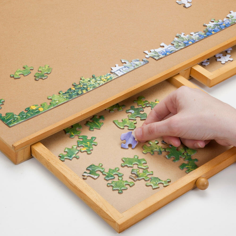 Jumbo Size Wooden Puzzle Plateau Smooth