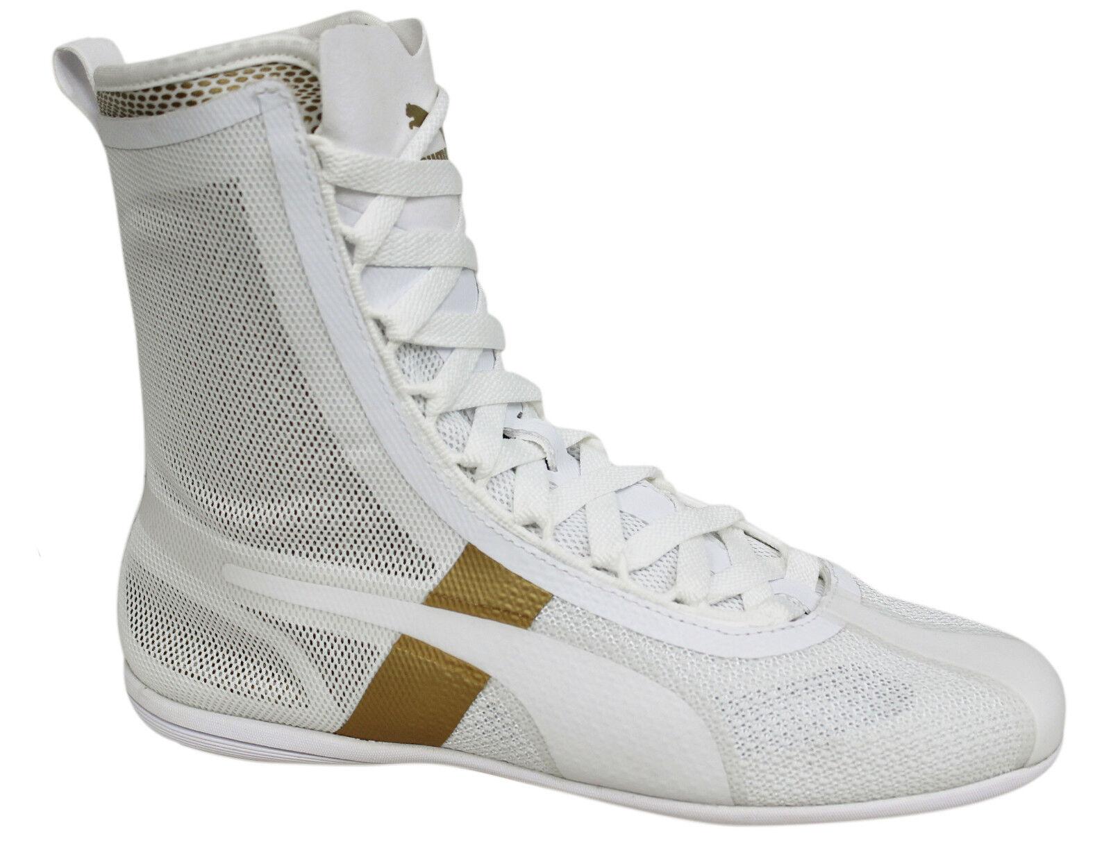 Puma Rihanna collection eskiva Hi Evo pour Femme Blanc À Lacets Chaussures 362017 01 U74