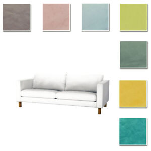 Custom-Made-Cover-Fits-IKEA-Karlstad-Sofa-Three-Seat-Sofa-Cover-Velvet-Fabric