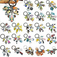 Anime Cartoon Character Totoro Metal Keychain Keyrings Pendant Cosplay Key Rings