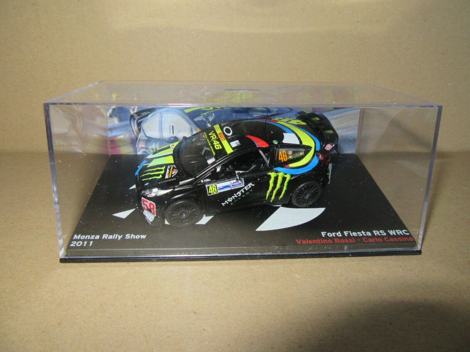 435K Ixo Ford Fiesta Rs WRC Monza Rally Show 2011 Valentino Rossi  46 1 43